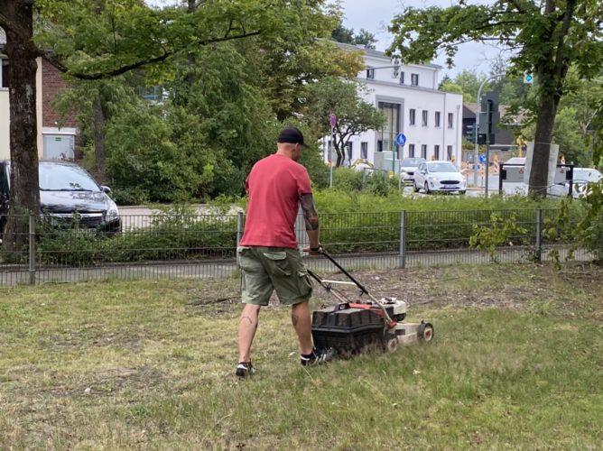 Vereinsheim aus Dornröschenschlaf befreit